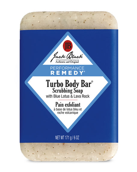 Jack Black Turbo Body Bar Scrubbing Soap, 6