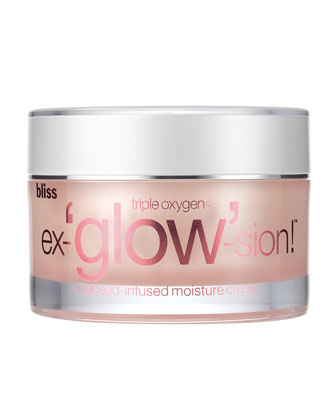 Triple Oxygen Ex-'glow'-sion Moisture Cream with Vitabeads