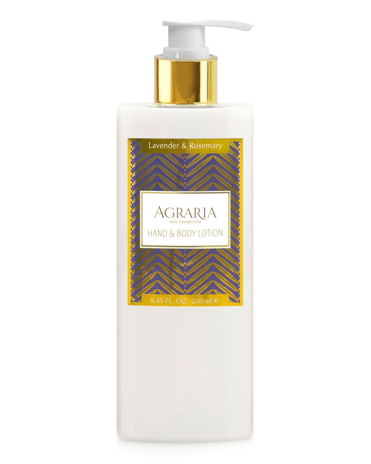 Lavender Rosemary Hand & Body Lotion   Agraria   Lavender