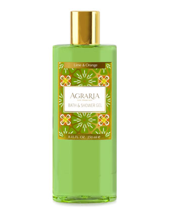 Lime Orange Blossom Shower Gel