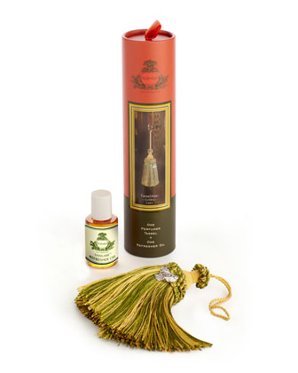 Golden Cassis TasselAire Perfumed Tassel + Oil