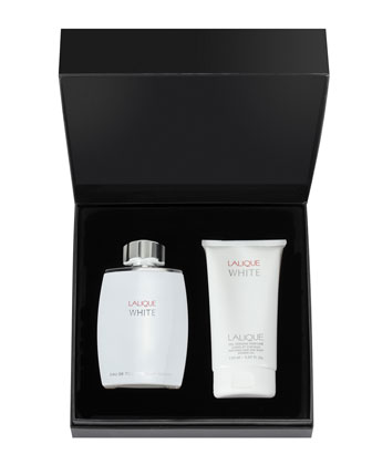 Lalique White Holiday Set