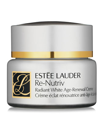 Re-Nutriv Radiant White Age-Renewal Creme