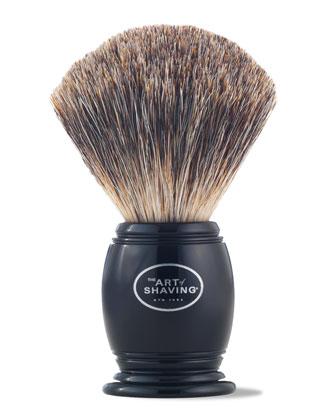 Pure Badger Hair Brush, Black
