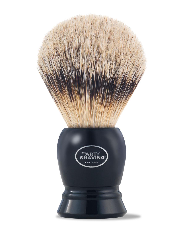 Fine Badger Hair Brush, Black - The Art of Shaving