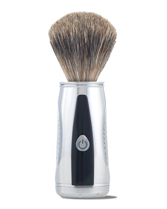 Power Shave Collection Power Brush with Badger Hair