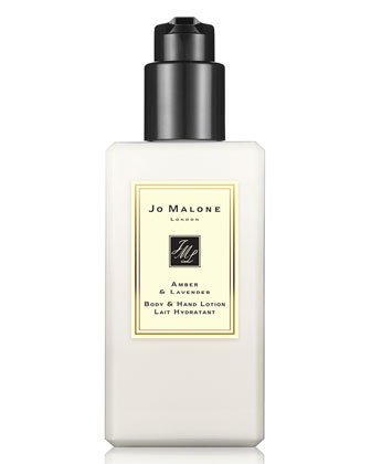 Amber & Lavender Body & Hand Lotion, 250ml