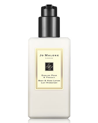 English Pear & Freesia Body Lotion, 250ml