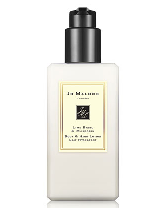 Lime Basil & Mandarin Body & Hand Lotion, 250ml