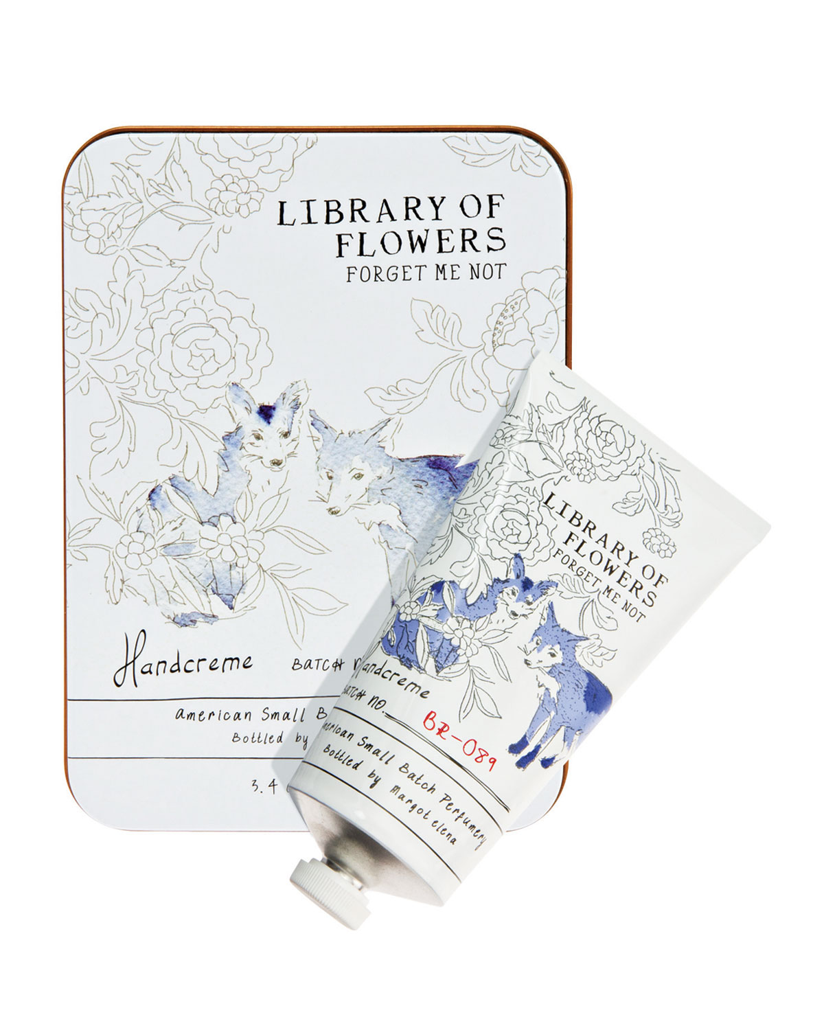 Forget Me Not Coco Butter Handcreme - Library of Flowers