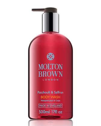 Patchouli & Saffron Body Wash, 500ml