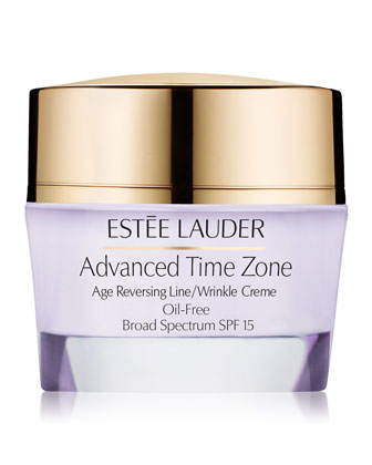 Advanced Time Zone Age Reversing Line/Wrinkle Creme Oil-Free Broad Spectrum ...