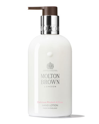 Rhubarb & Rose Hand Lotion, 300 ml/ 10 fl. oz.