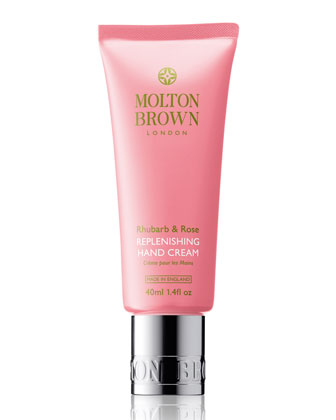 Rhubarb & Rose Hand Cream, 40 ml/1.4 fl. oz.