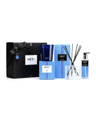 Blue Garden Luxury Gift Set