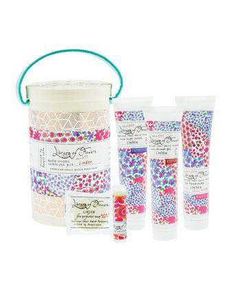 Linden Field Bath Goods Sampling Kit