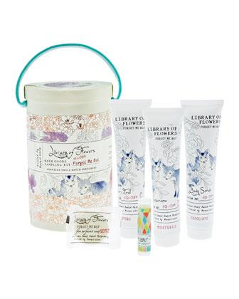 Forget Me Not Bath Goods Sampling Kit