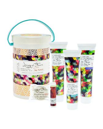 The Forest Field Bath Goods Sampling Kit
