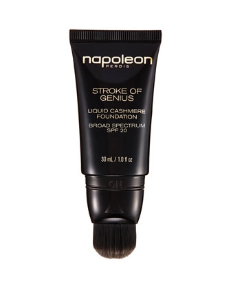 Stroke of Genius Liquid Cashmere Foundation Broad Spectrum SPF 20, 30 mL ...