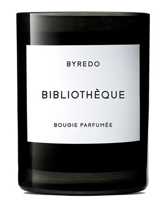 Biblioth??que Bougie Parfum??e Scented Candle, 240g