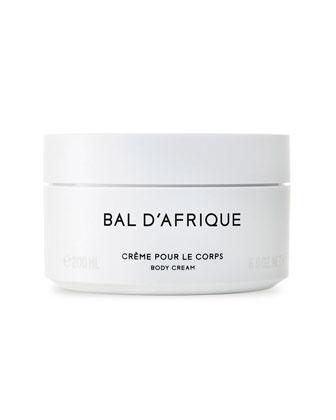 Bal D'Afrique Cr�me Pour Le Corps Body Cream, 200 mL