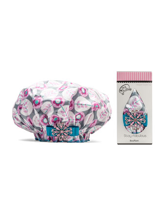 Designer Shower Cap, Sweet Platinum