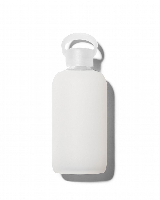 Glass Water Bottle, Milk, 500 mL   bkr