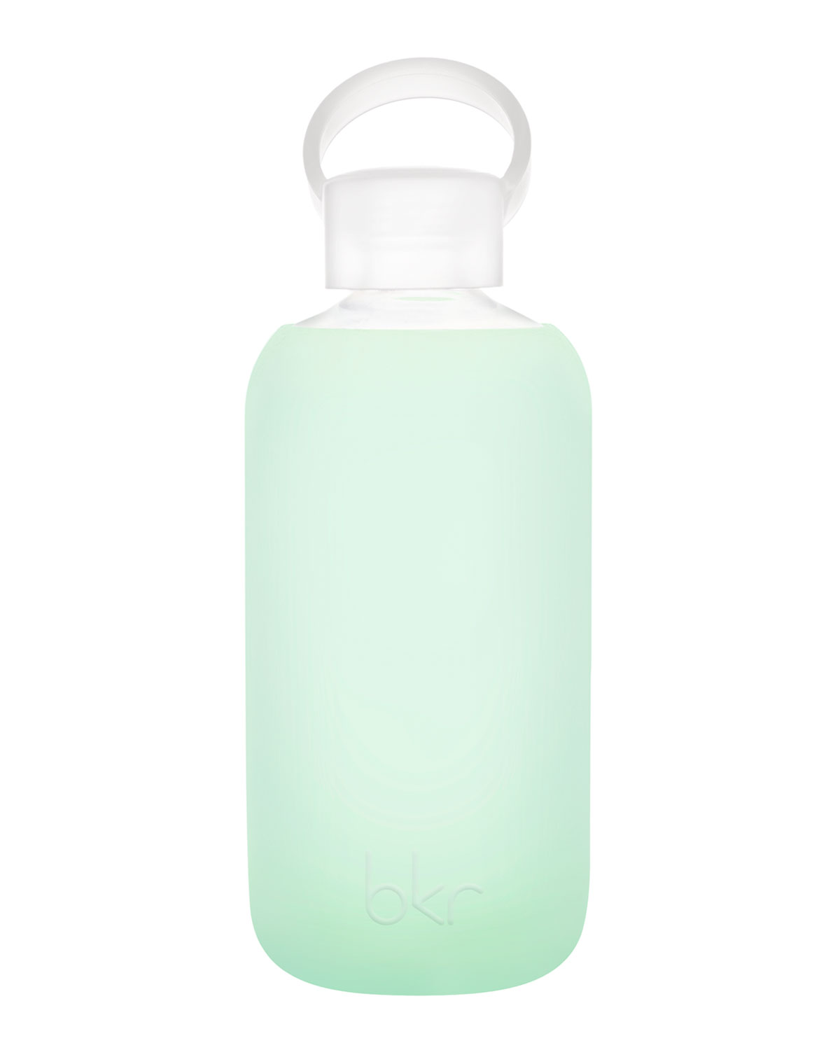 Glass Water Bottle, Chip, 500 mL   bkr