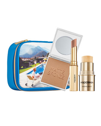Limited Edition Poolside Gossip Makeup Set, Slim Aarons Collection