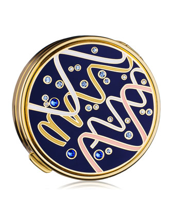 Limited Edition Gleaming Streamers Powder Compact