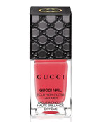 Gucci Bold High-Gloss Lacquer, Crushed Coral, 10 mL