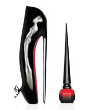 Rouge Louboutin Nail Colour *Shoe Is Not For Sale