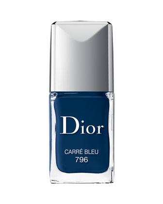 Dior Vernis Nail Lacquer, Carre Bleu