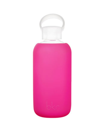 Glass Water Bottle, Front Row, 500 mL