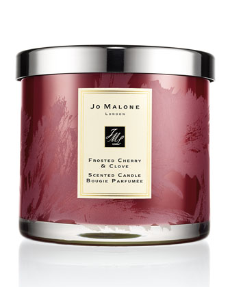 Frosted Cherry & Clove Deluxe Candle
