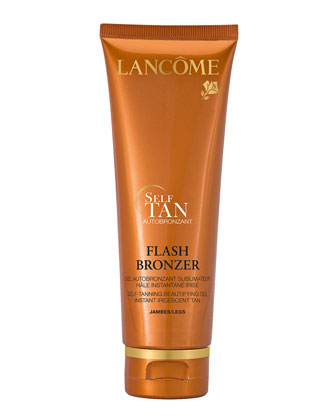 Flash Bronzer Tinted Self-Tanning Leg Gel with Pure Vitamin E, 4.2 oz. ...