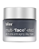 Multi-face-ted All-in-one Anti-aging Clay Mask, 2.3 oz.
