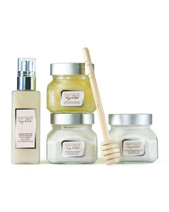 LIMITED EDITION Body & Bath Luxe Quartet, Almond Coconut Milk