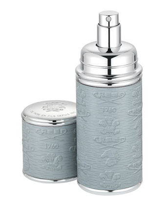 Silver Gray Atomizer, Sized at 1.7 oz.