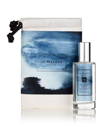 Night Jasmine and Oregano Linen Spray and Travel Bag, 50 mL