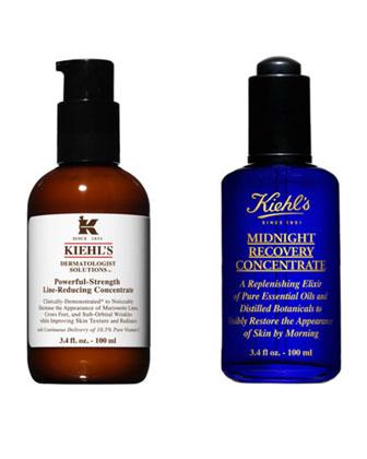 Exclusive Kiehl's Healthy Skin Duo Bundle Jumbo 2015, 3.4 oz. each