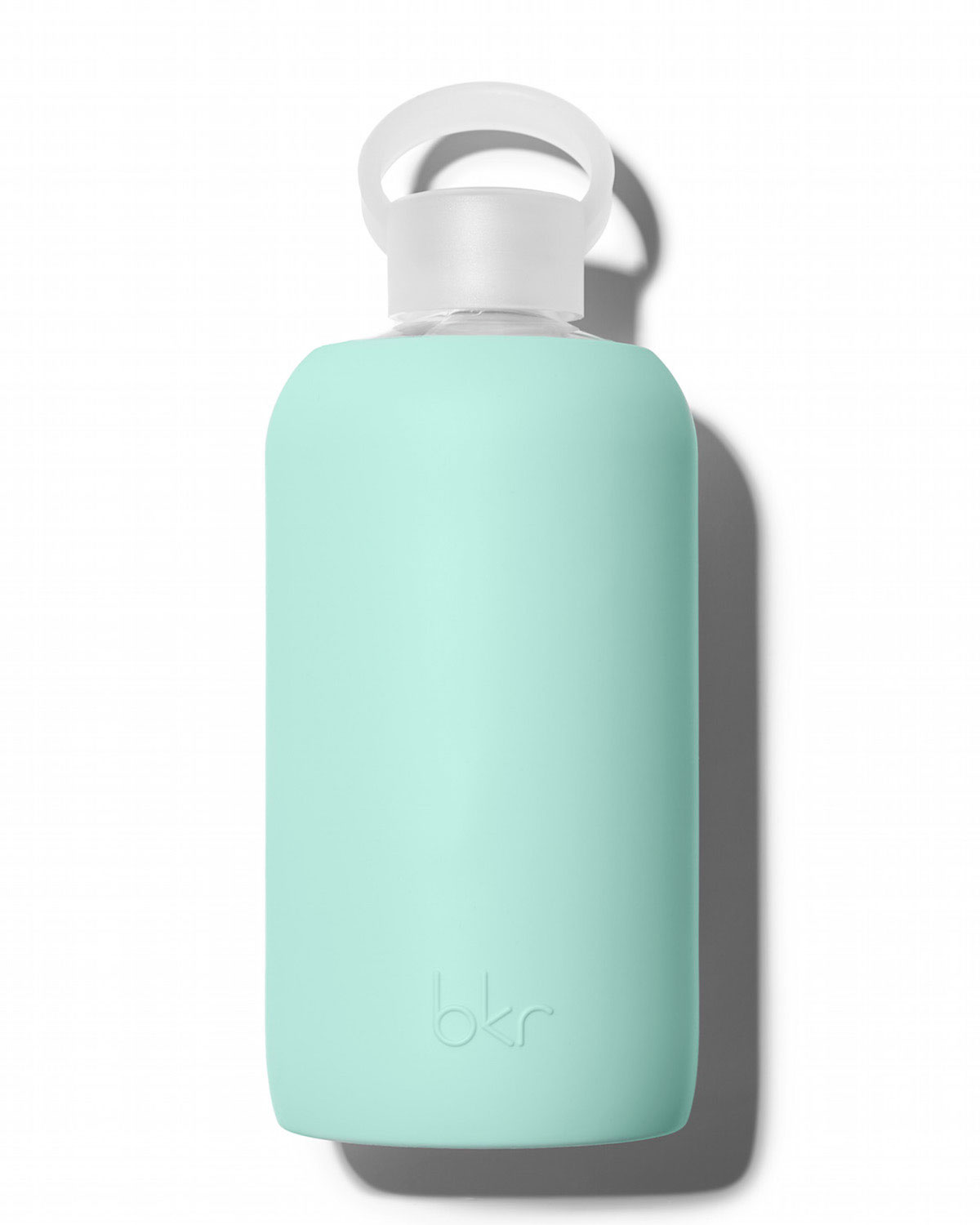 Glass Water Bottle, Sunday, 1L - bkr