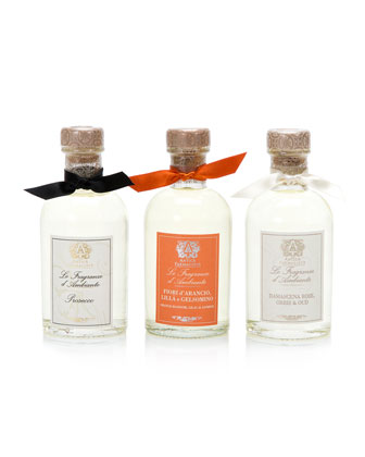 Collection of 3 Home Ambiance Diffusers: Prosecco, Rose and Orange Blossom, ...