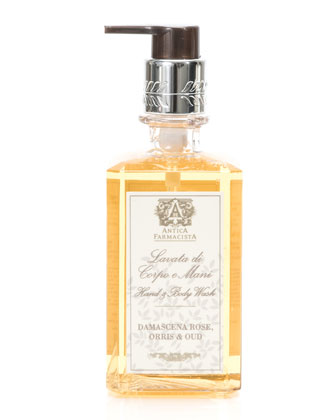 Damascena Rose, Orris & Oud Hand & Body Wash, 10 oz.
