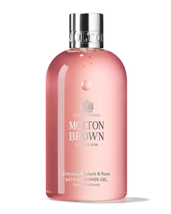Delicious Rhubarb & Rose Bath & Shower Gel, 300 mL
