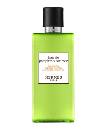 Herm�s Eau de Pamplemousse Rose Hair and Body Shower Gel, 6.7 oz. ...