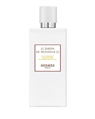 Herm�s Un Jardin de Monsieur Li Moisturizing Body Lotion, 6.7 oz.