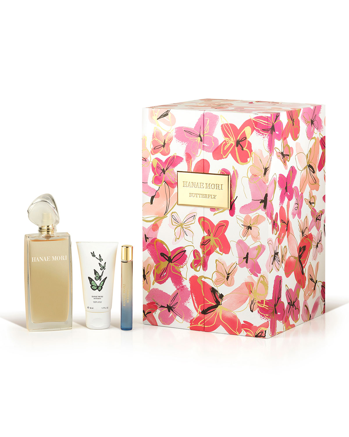 Butterfly Deluxe Fragrance Set - Hanae Mori