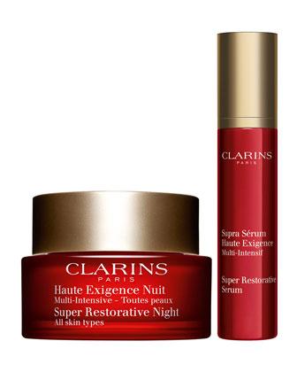 Limited Edition Super Restorative Anti-Aging Nighttime Duo