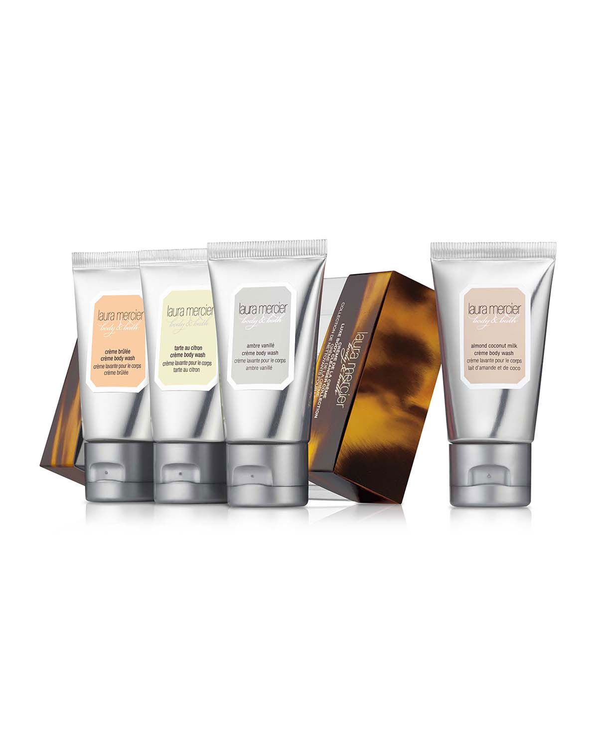 Limited Edition Crème de la Crème Luxe Body Cleanser Collection, 30 mL - Laura Mercier